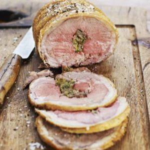 Lamb Saddle Boneless Roast