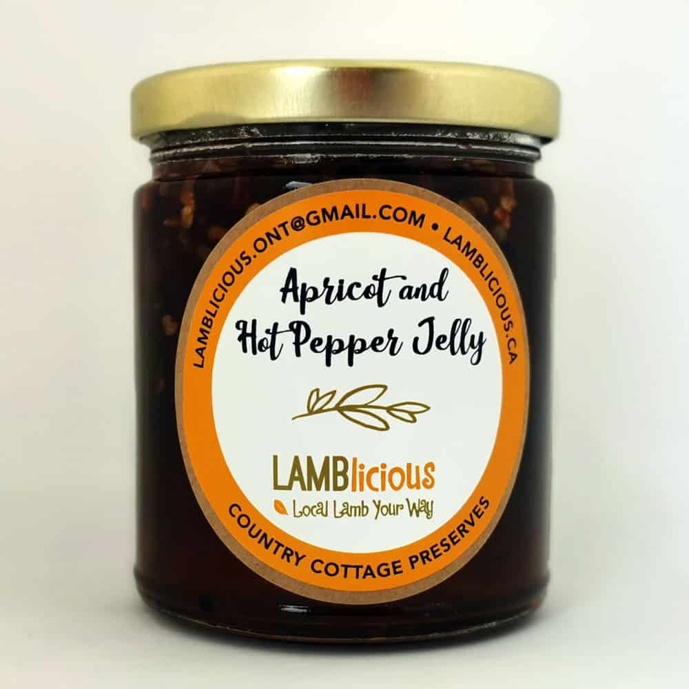 Apricot and Hot Pepper Jelly 250 ml - Lamblicious