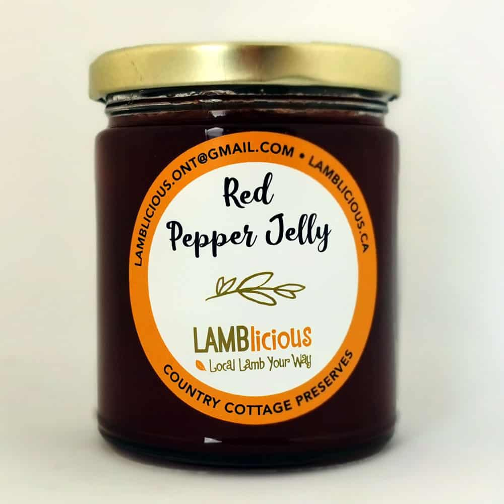 Red Pepper Jelly 250 ml - Lamblicious